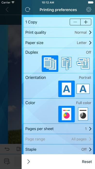 Olivetti Mobile PrintCapture d'écran de 4