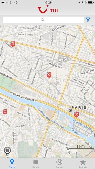 TUI ParisCapture d'écran de 1
