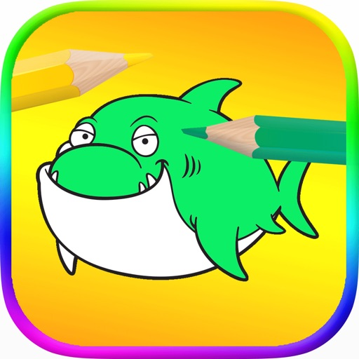 Sea World Coloring Pages iOS App