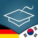 German | Korean - AccelaStudy® icon