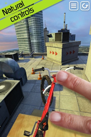 Touchgrind BMX screenshot 1