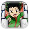 Stickers Emoji Hunter Boy Manga Keyboard Themes