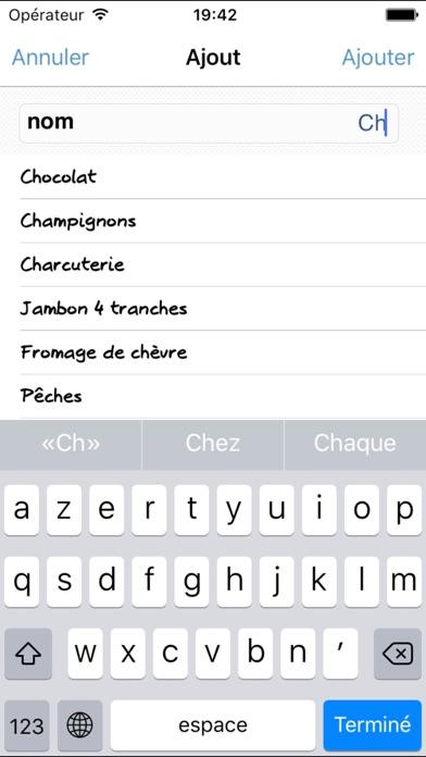 download Liste de courses Courzeo apps 0
