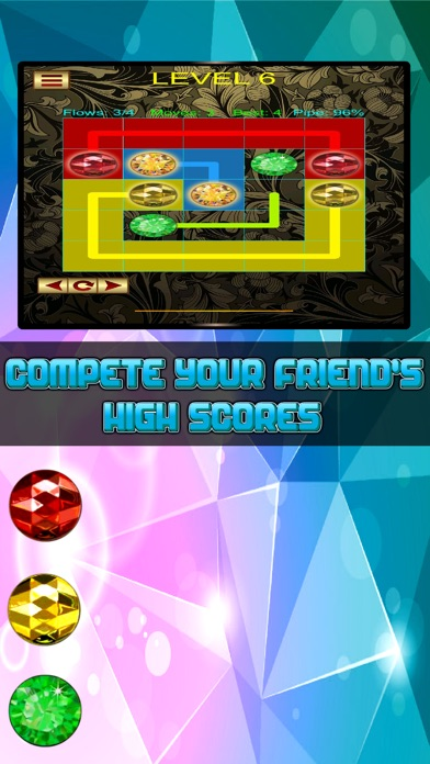 Jewel Connect: Match the Pipe Lines Pro screenshot three