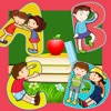 ABC Alfabeto Kids Learning Gioco Puzzle Tricky! My First Toddler`s App