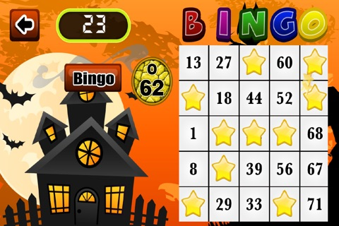 Aah Halloween Bingo Bash Games Free screenshot 2
