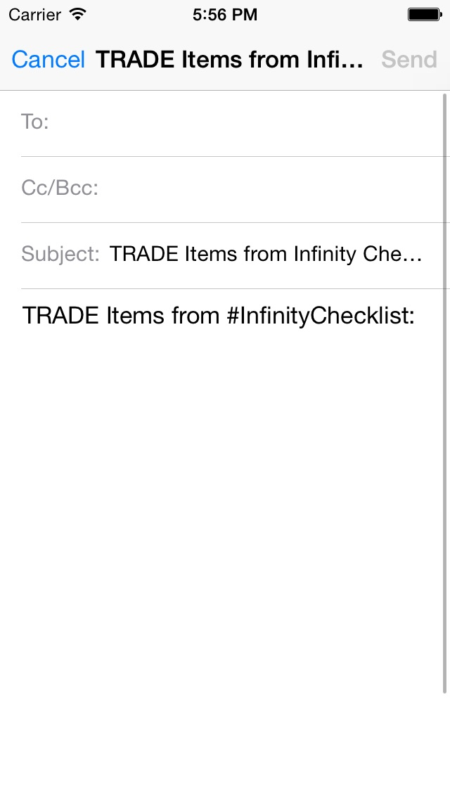 Infinity Tracker review screenshots