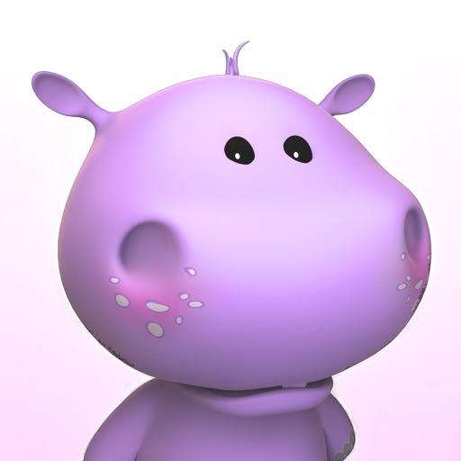 会说话的小河马 – Talking Baby Hippo