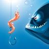 Pêche Worm Nightmare Défense - GRATUIT - abattre les monstres du lac TD