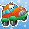 Aktiv! Auto-Spiel der Fahrzeuge für Kleinkinder bis zum Kindergarten lernen und Vorschule