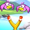 Sling Catapult Bird Shooter : A Slingshot Bubble Birdy Hunter Game