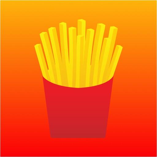 Falling Fries iOS App