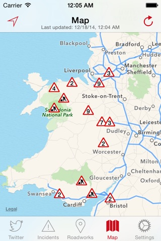 Traffic Wales screenshot 4