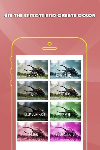 Smart Image Editor- A Beautiful Mess with Color & Effects For Twitter & Facebook Free screenshot 3