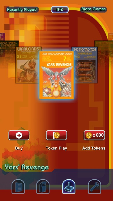Screenshot of Atari's Greatest Hits1
