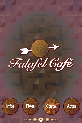 Falafel café screenshot 1
