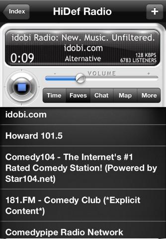 HiDef Radio Pro - News & Music Stations screenshot 1