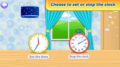 楽しい時間ゲームを伝える - インタラクティブアナログ時計と時計の読み方を学ぶのおすすめ画像2