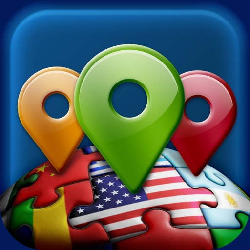 Geo World Places - Fun Geography Quiz With Audio Pronunciation for Kids