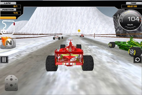 Super Formula Racing 3D screenshot 4