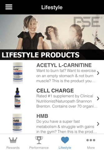 PSE Supplements screenshot 3