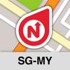 NLife Singapore & Malaysia - Offline GPS Navigation & Maps