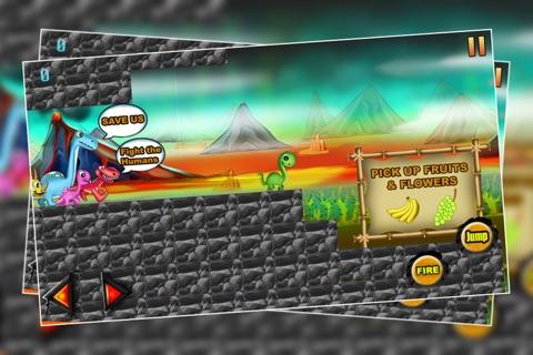 Dinosaur Island 3 : The Prehistoric Lava Mountain Adventure - Free screenshot 1