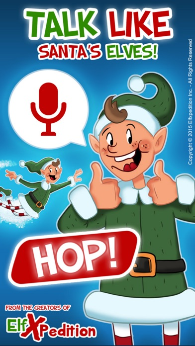 download Elfxpedition - Christmas Elf Voice Changer -Talk like Santa's Elves! apps 1