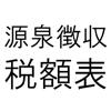 Takuro Miida - 源泉徴収税額表平成27年分 アートワーク