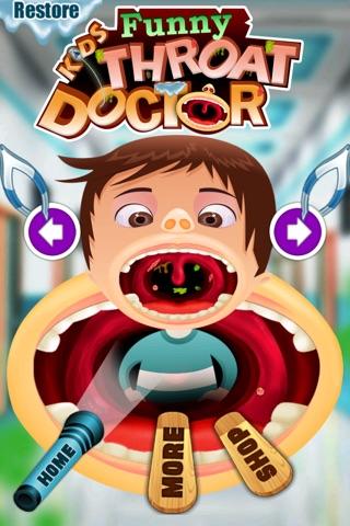 Funny Kid's Throat Doctor screenshot 2