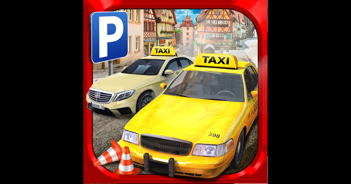 taxi parking simulator gratuit jeux de voiture de course dans l app store. Black Bedroom Furniture Sets. Home Design Ideas