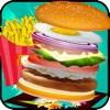 Burger Maker Chef - Cooking Games Hot Super Master Hamburger Shop Burger King Food Fever