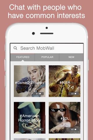 MobWall screenshot 1