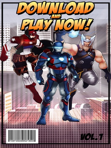 Superhero Iron Steel Justice – The Alliance League of 3 FX Man 2 Free-ipad-3