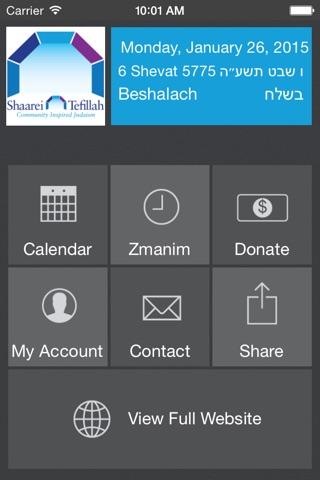 Shaarei Tefillah Congregation screenshot 1