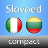 Dizionàrio Lituano <-> Italiano Slovoed Compact Sonoro