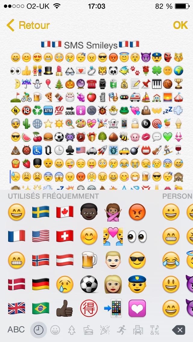 SMS Smileys Free - New Emoji IconsCapture d'écran de 1