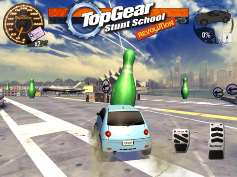 Screenshots of Top Gear: Stunt School Revolution for iPad