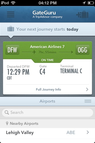 GateGuru, Airport Info & Flight Status screenshot 1