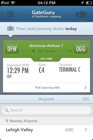 GateGuru, Airport Info & Flight Status screenshot 1