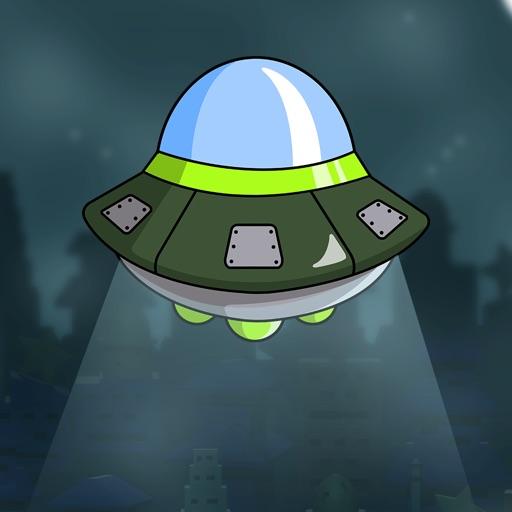 Crazy Alien Earth Invasion - top aeroplane shooting game iOS App