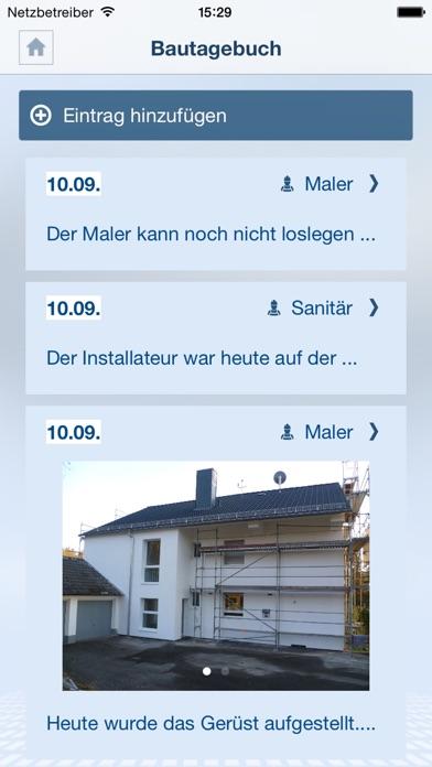 Screenshot von Mein Bauprojekt3