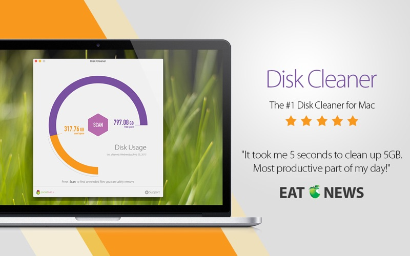 Screenshot #1 for Disk Cleaner - Free Your Hard Drive Space