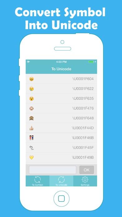 Unicode Converter Screenshots