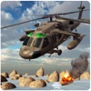 Hélicoptère Marine Gunship Warfare - WW2 Apache Battlefield Jeu de simulation