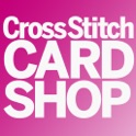 Cross Stitch Card Shop – how to cross stitch cards, cross stitch patterns, cross stitch embroidery icon