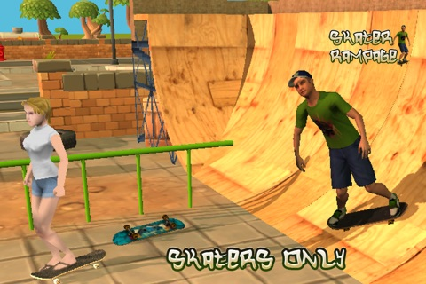 Skater 3D Rampage Simulator screenshot 1