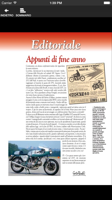 Motociclismo d'epoca screenshot1