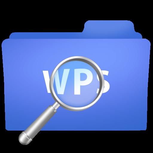 wps文字边框素材蓝色
