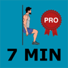 7 Minute SCIENTIFIC Workout routines - PRO Version - Your Personal Trainer for Calisthenics exercises - Work from home, Lose weight, Stay fit!